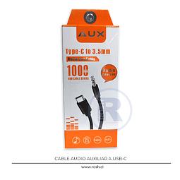 Cable de Audio 3.5 mm a USB-C