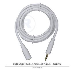 Cable Extensión Audio 3.5 mm