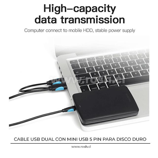 Cable Mini USB Disco Duro