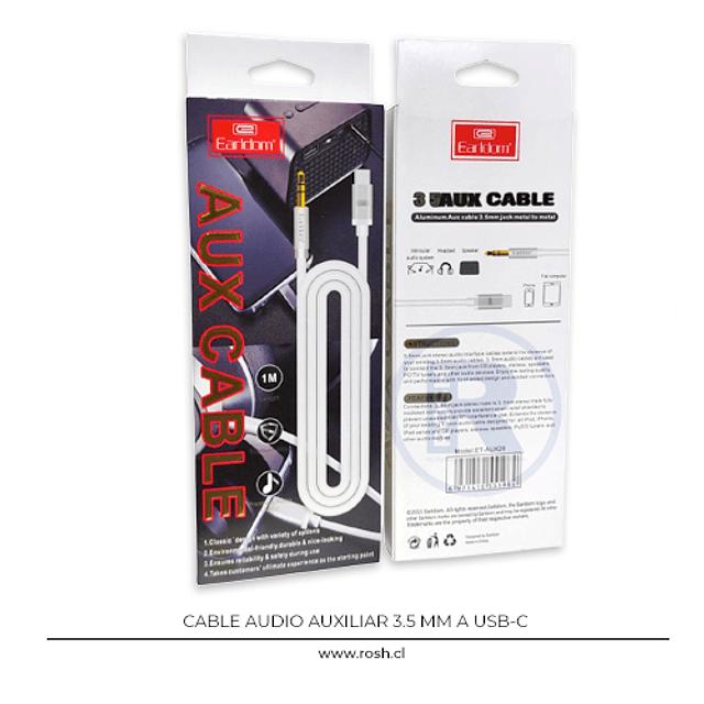 Cable Auxiliar a USB-C