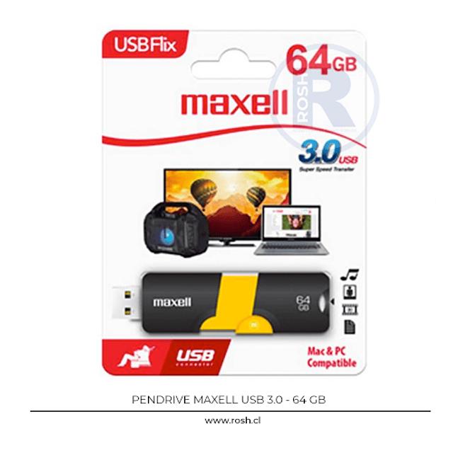 Pendrive 64 GB USB 3.0 Maxell