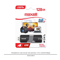 Pendrive 128 GB USB 3.0 Maxell