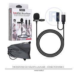 Micrófono de Solapa USB-C