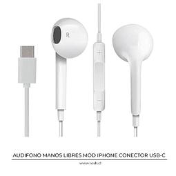 Audifono Manos Libres USB-C