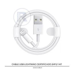 Cable USB Lightning MFI Fonemax