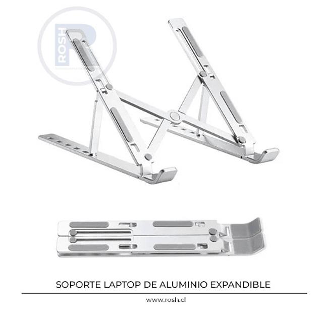Soporte Notebook Aluminio Portátil