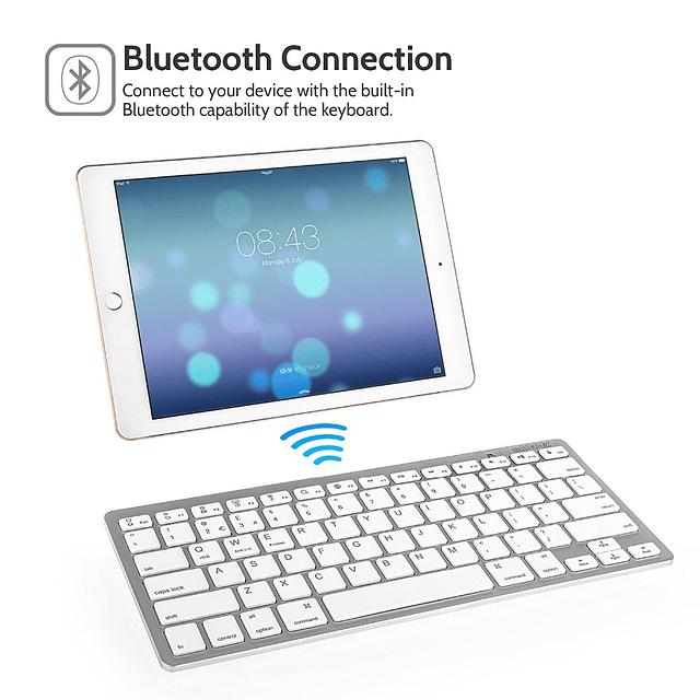 Teclado Inalámbrico Bluetooth