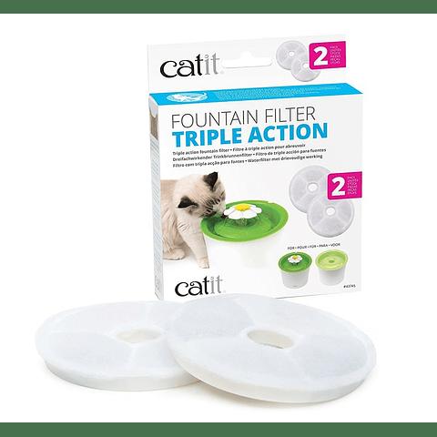 Filtro catit triple accion