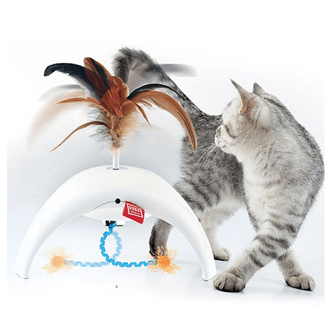Pet Droid Feather Spinner