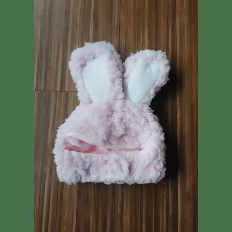 Gorro conejo felpa