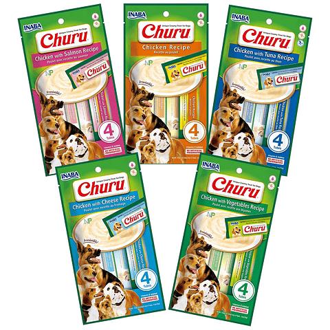 Churu perros 4 unidades