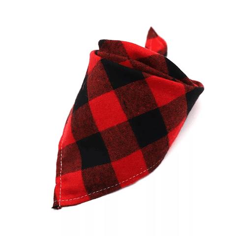 Pañoleta franela roja