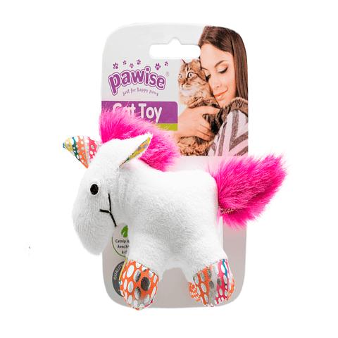 Peluche unicornio con catnip