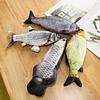 Peluche pez con catnip