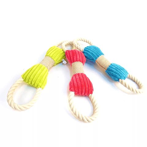 Peluche con cuerda