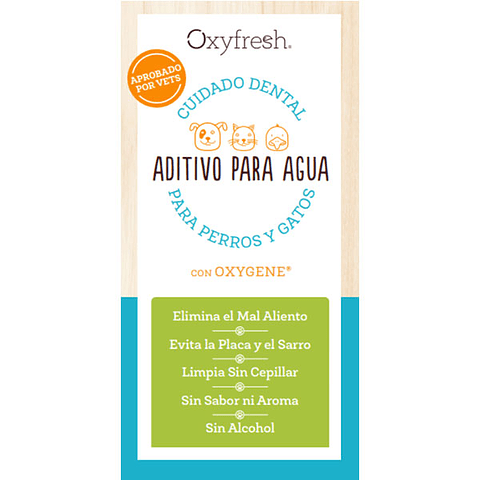 Oxyfresh dental water