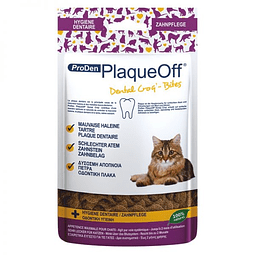 Plaque off gatos snack