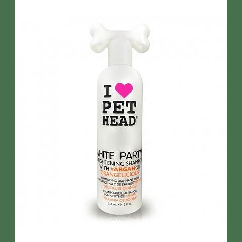 Shampoo pelo blanco White party
