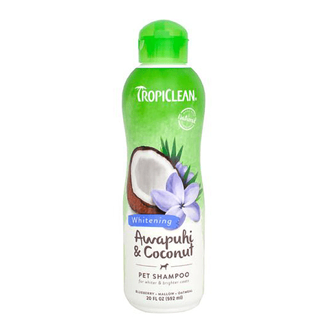 Tropiclean Shampoo pelo blanco