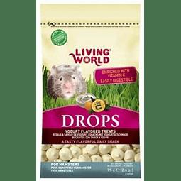 Drops yogurth Hamster