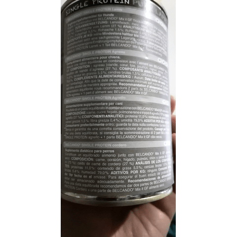 Belcando proteina de cordero
