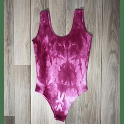 Body Tie Dye Rosado/Blanco
