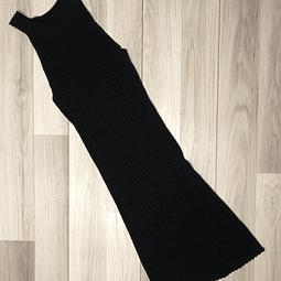 Vestido Negro escote alto