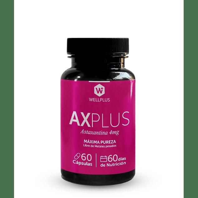 AXPLUS wellplus 60 capsulas astaxantina 4 mg