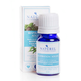 Sinergia Aromaterapia Respiration Adulte 10 ml Naturel Organic