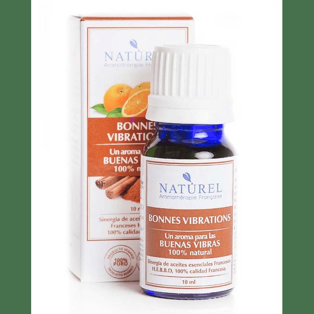 Sinergia Aromaterapia Bonnes Vibrations 10 ml Naturel Organic