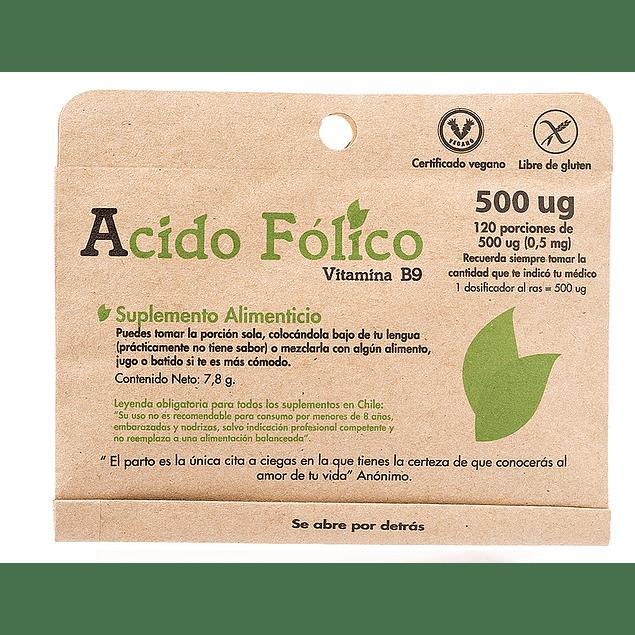 Acido Folico 120 porciones Dulzura Natural