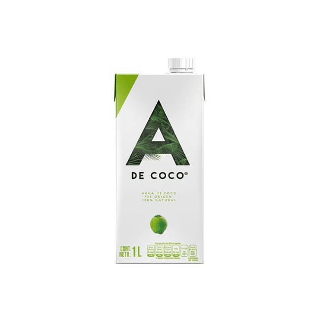 Agua de coco 1 lt A de coco