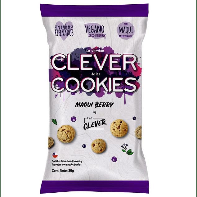 Galletas cookies maqui berry 30g Eat Clever