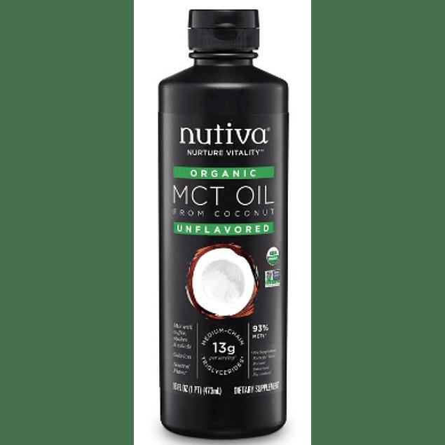 Aceite organico MCT 473ml Nutiva