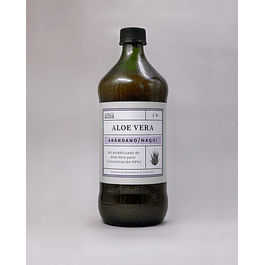 Aloe Vera puro con Arandano y Maqui 1Lt Del Alba