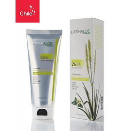 Shampoo 75% aloe vera puro 200g Dermaloe