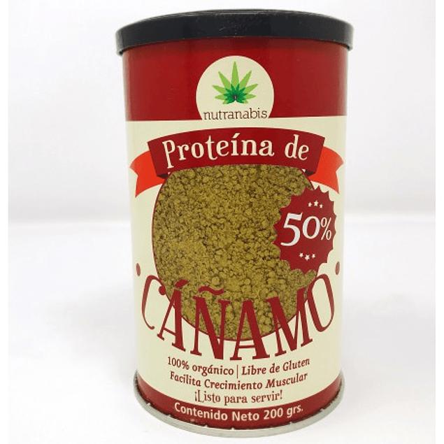 Proteina de cañamo en polvo organica 200g  Nutranabis