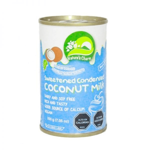 Leche condensada de coco 200gr  Nature's Charm
