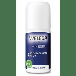 Desodorante Roll-On Hombre 24hrs 50ml Weleda