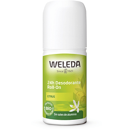 Desodorante Roll-On Citrus 24hrs 50ml Weleda