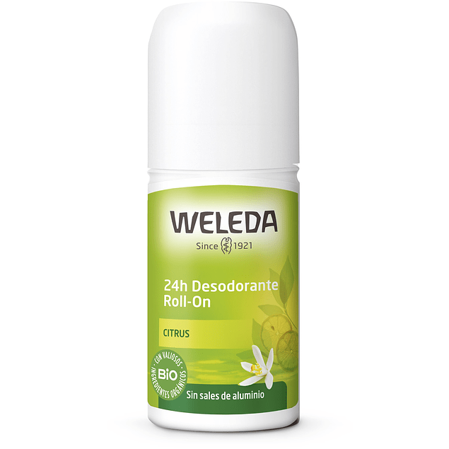 Desodorante Roll-On Citrus 24hrs 50ml Weleda
