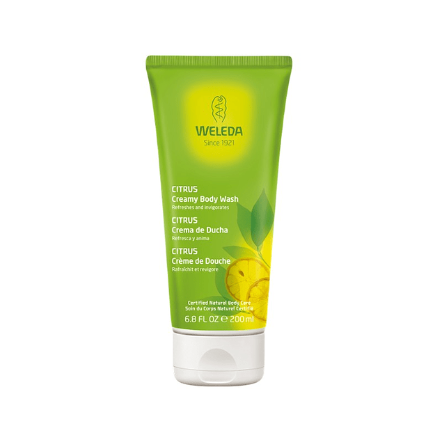 Gel de Ducha Citrus 200ml Weleda