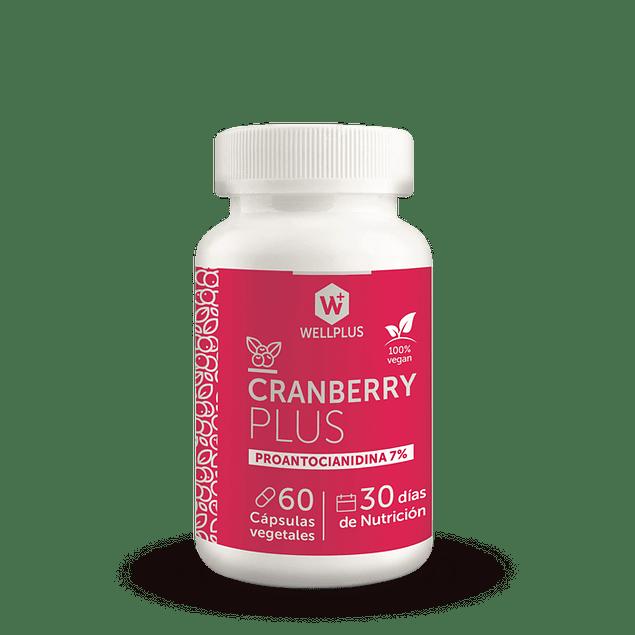 Cranberry  Plus 60 caps Wellplus