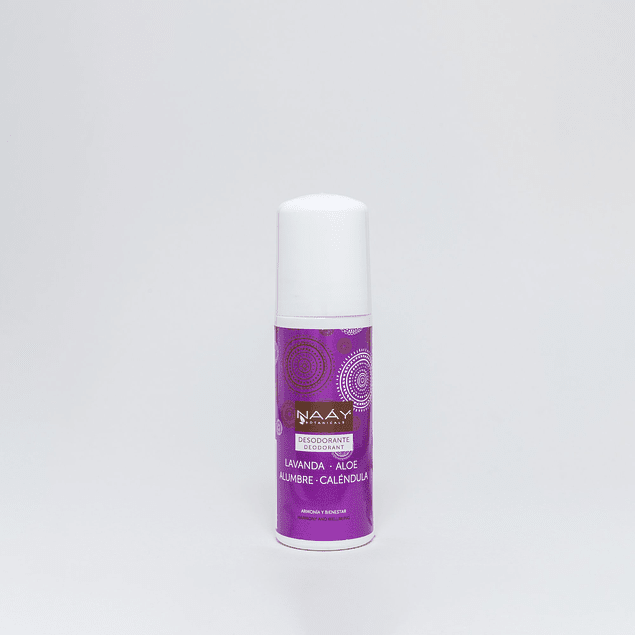 Desodorante de Alumbre de Lavanda 75ml NAAY
