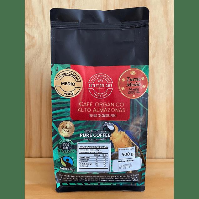 Café Organico 500g Alto Amazonas