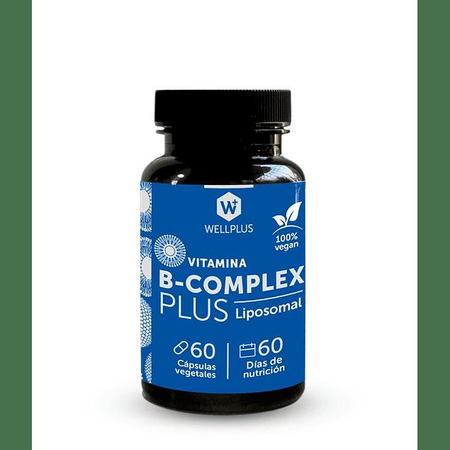 B Complex Plus Liposomal 60 caps Wellplus