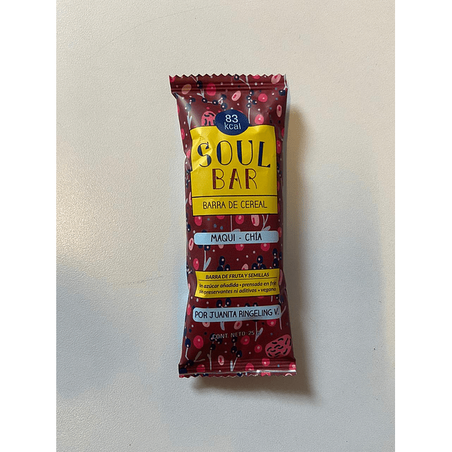 Soul Bar Maqui Chia 25g The Wild Foods