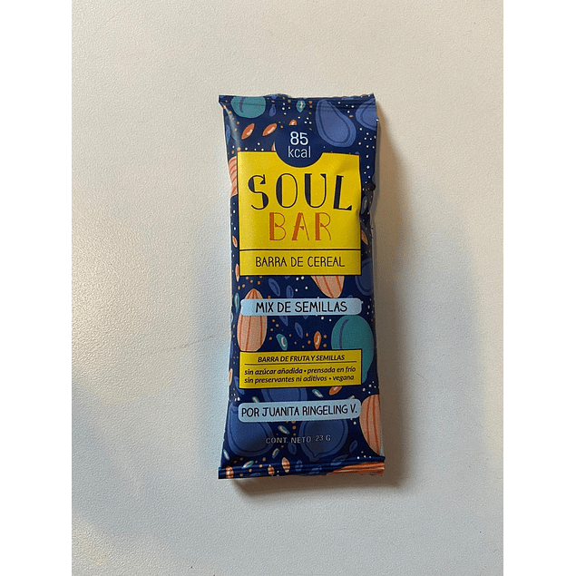 Soul Bar Mix de Semillas 25g The Wild Foods