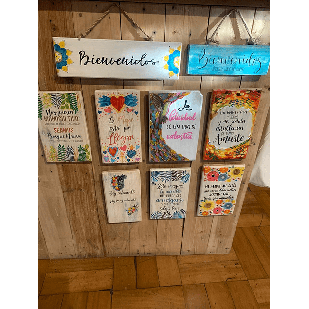 Cartel Decorativo Yampallet