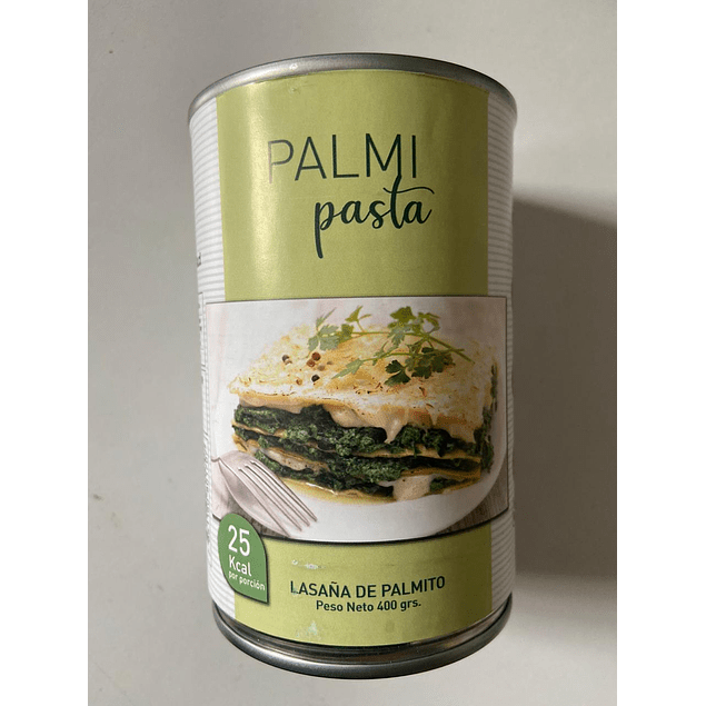 Lasaña de Palmitos 400g PalmiPasta